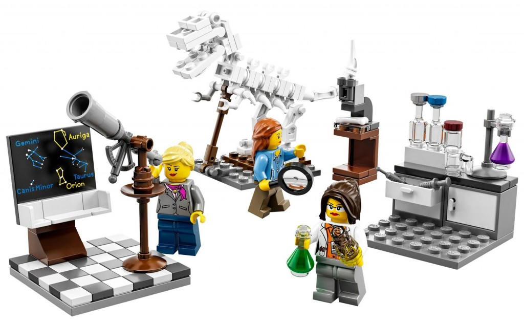 LEGOscientists