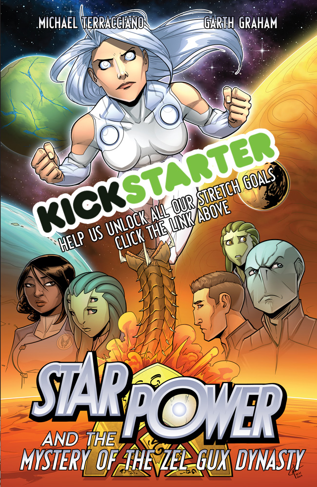 Book 3 Kickstarter!