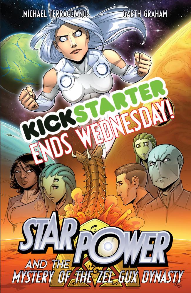 Vol3 Kickstarter Ending!