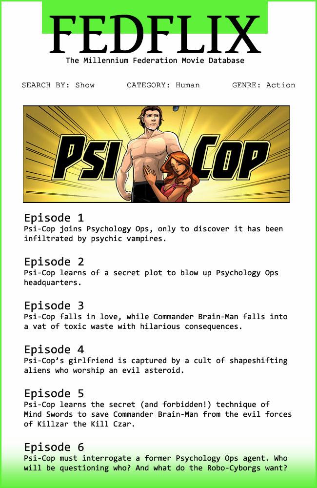 PsiCop Season 1.1