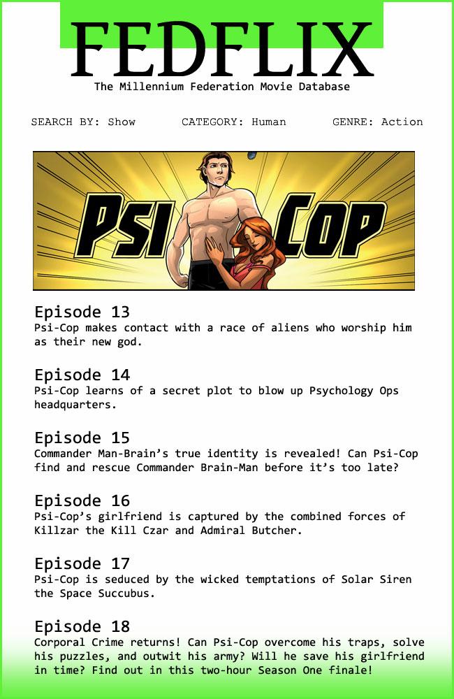 PsiCop Season 1.3