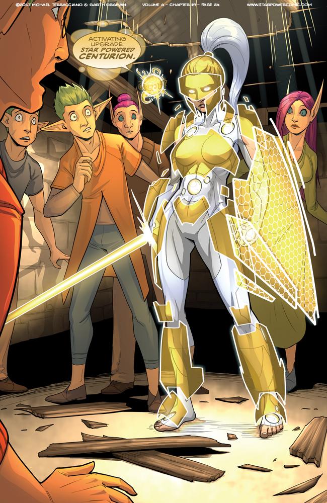 Star Powered Centurion