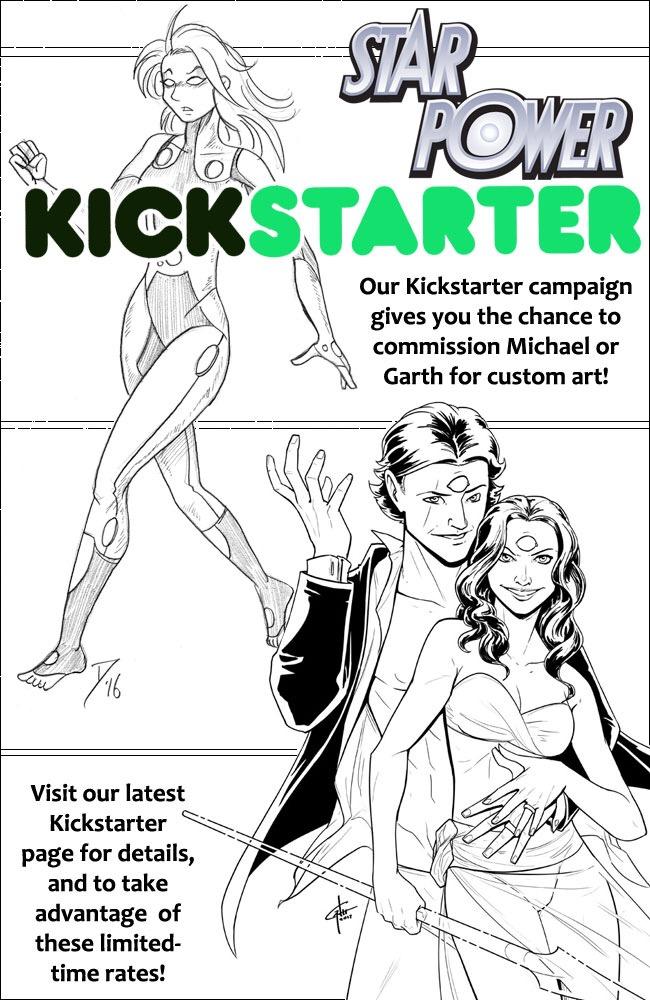 Kickstarter Custom Art