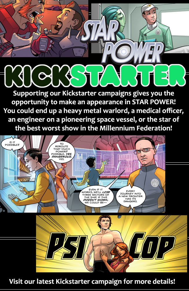 Kickstarter Appearance