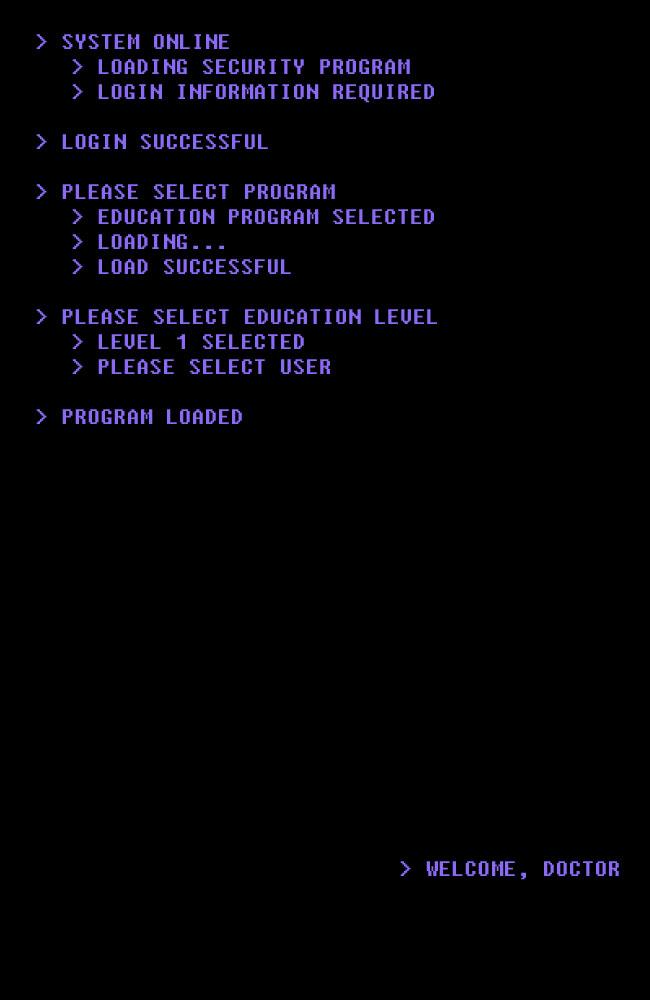 Program Selected