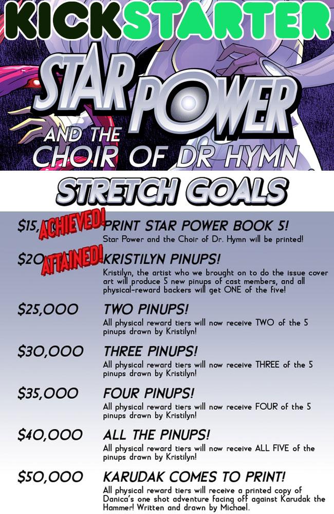 Kickstarter Stretch Goals
